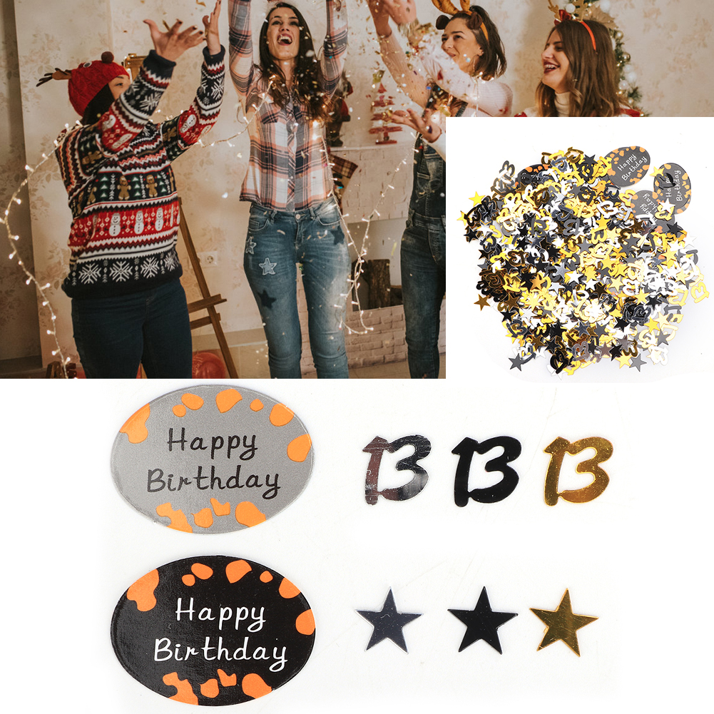 Table-Scatter-Confetti-Party-Decoration-Sprinkles-For-Wedding-Birthday-Hen-Party miniature 14