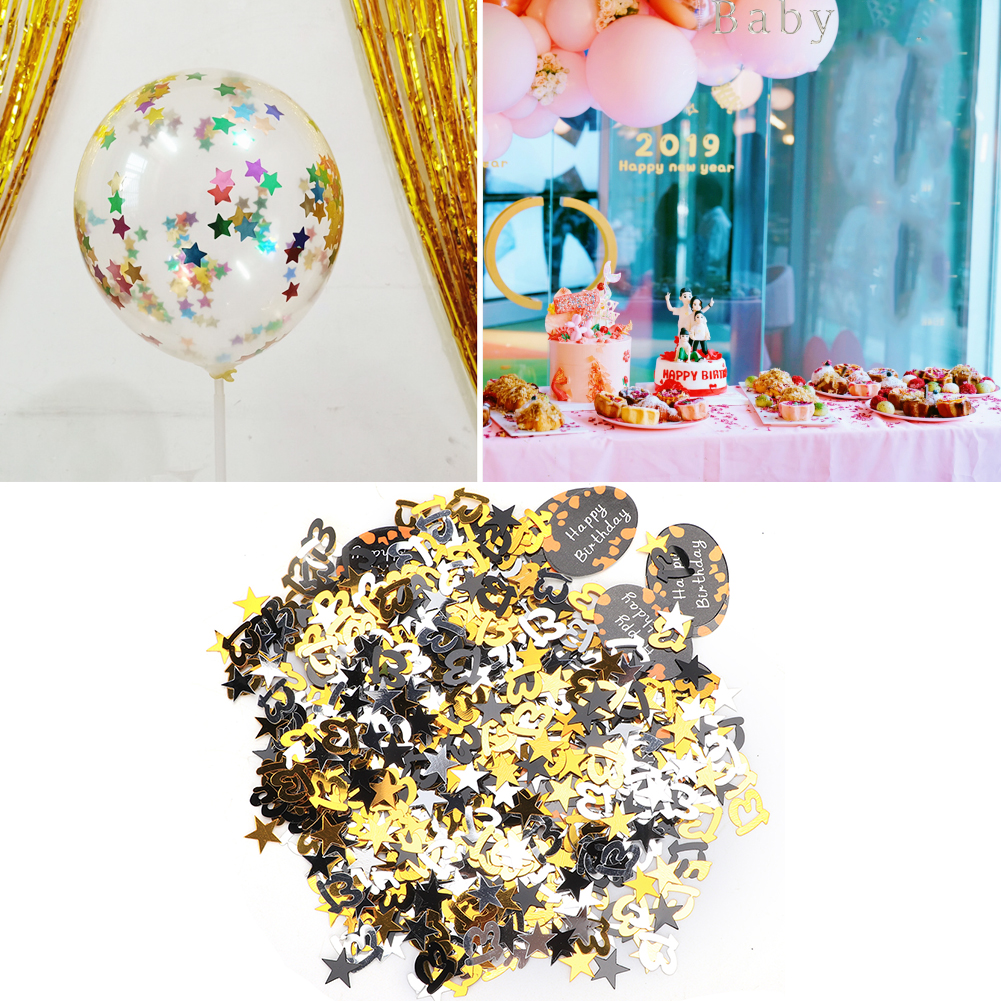 Table-Scatter-Confetti-Party-Decoration-Sprinkles-For-Wedding-Birthday-Hen-Party miniature 15