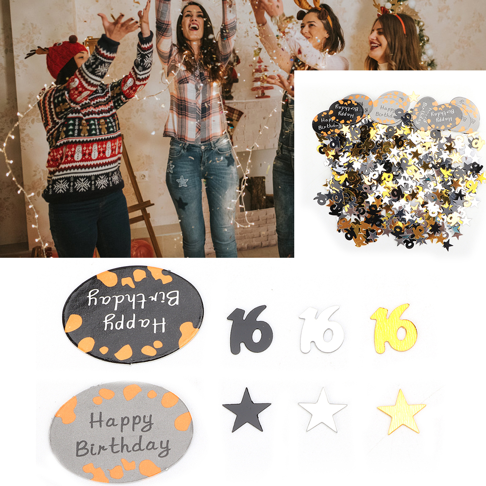 Table-Scatter-Confetti-Party-Decoration-Sprinkles-For-Wedding-Birthday-Hen-Party miniature 18
