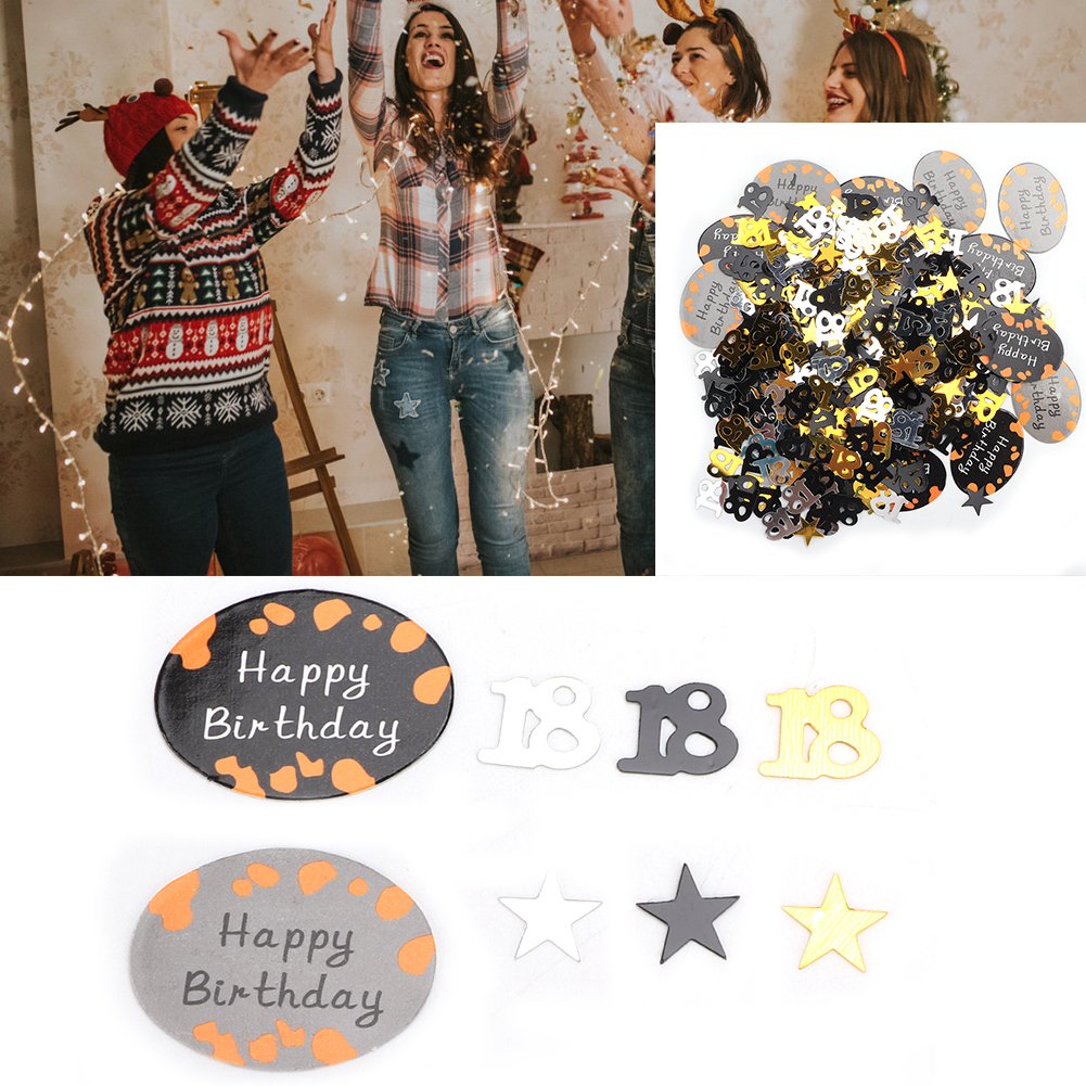 Table-Scatter-Confetti-Party-Decoration-Sprinkles-For-Wedding-Birthday-Hen-Party miniature 20