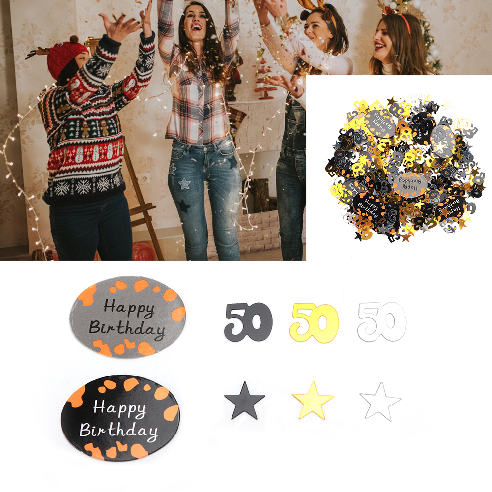 Table-Scatter-Confetti-Party-Decoration-Sprinkles-For-Wedding-Birthday-Hen-Party miniature 23