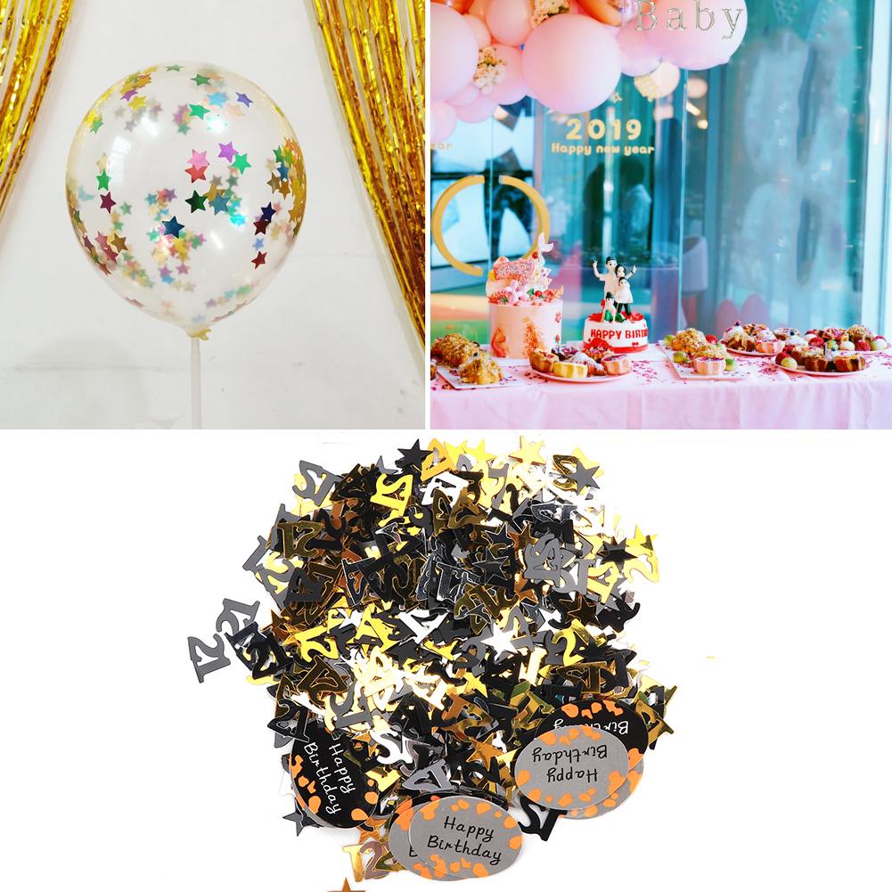 Table-Scatter-Confetti-Party-Decoration-Sprinkles-For-Wedding-Birthday-Hen-Party miniature 26
