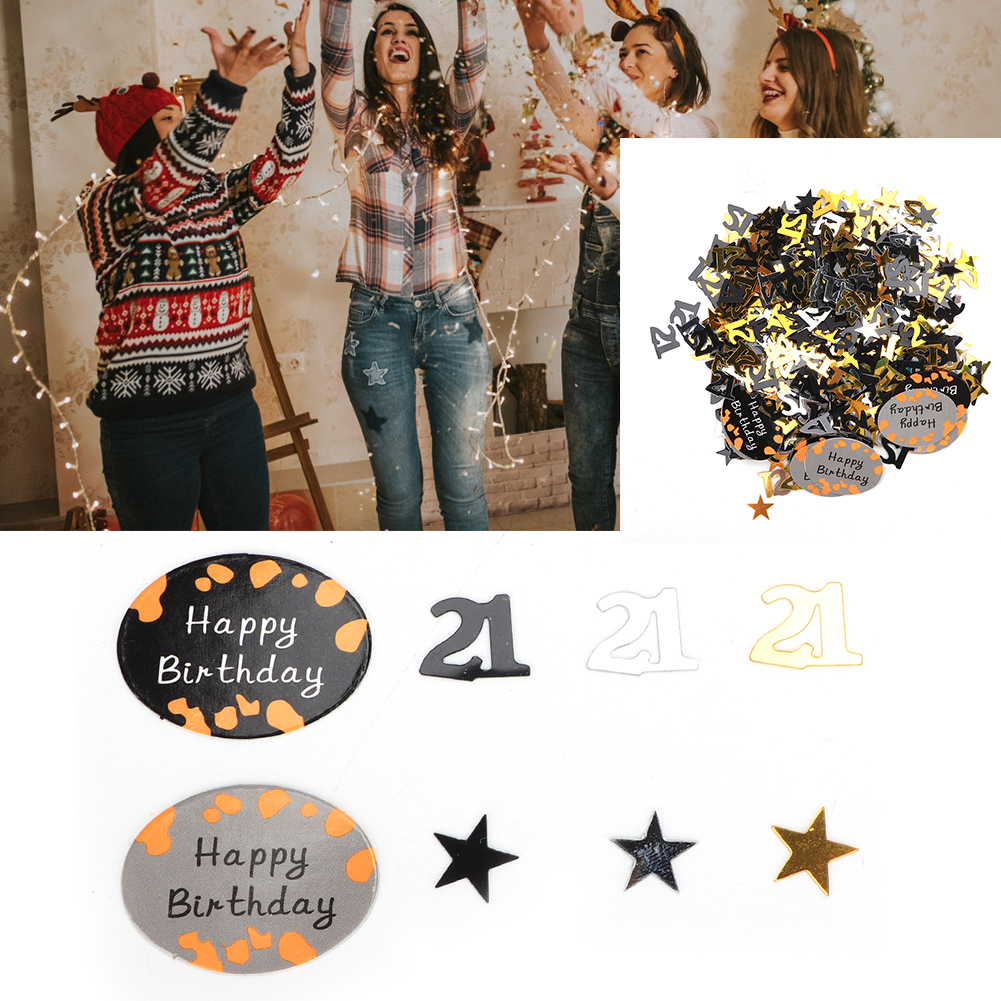 Table-Scatter-Confetti-Party-Decoration-Sprinkles-For-Wedding-Birthday-Hen-Party miniature 27