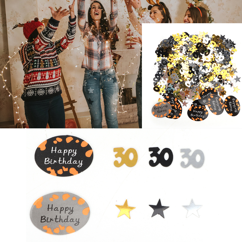 Table-Scatter-Confetti-Party-Decoration-Sprinkles-For-Wedding-Birthday-Hen-Party miniature 30