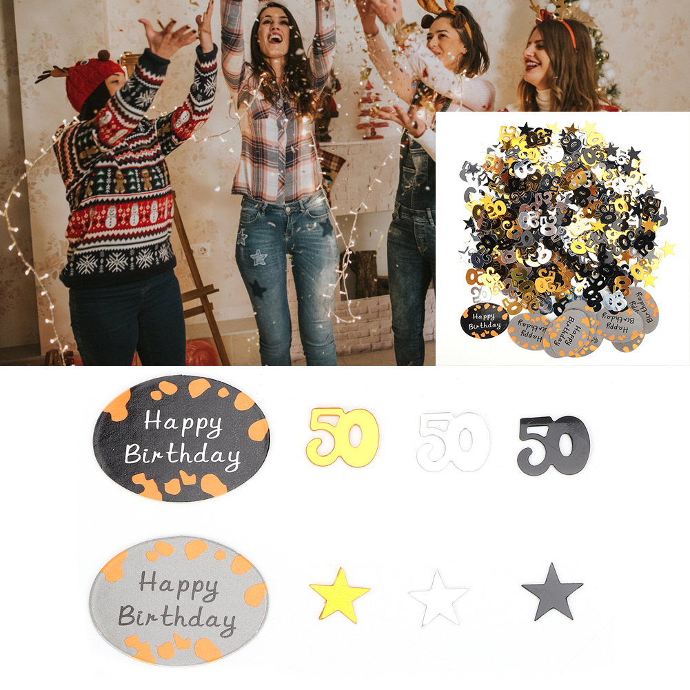 Table-Scatter-Confetti-Party-Decoration-Sprinkles-For-Wedding-Birthday-Hen-Party miniature 35