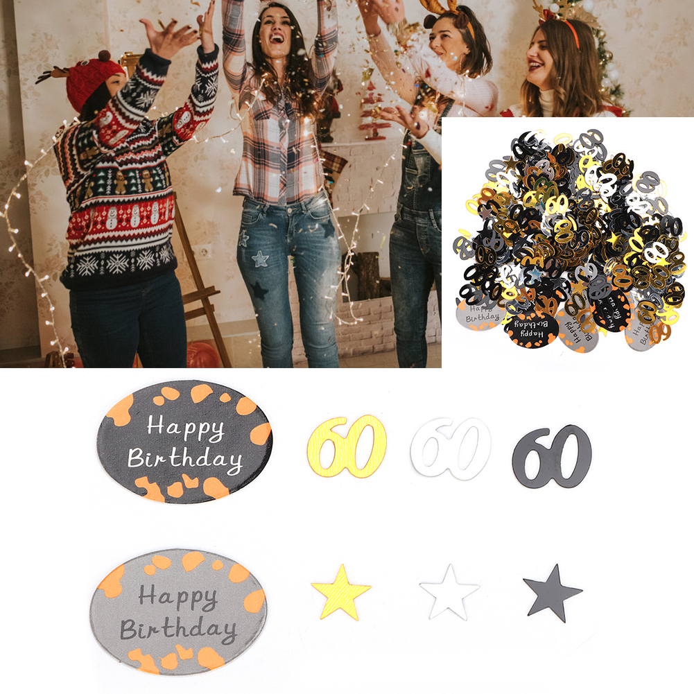 Table-Scatter-Confetti-Party-Decoration-Sprinkles-For-Wedding-Birthday-Hen-Party miniature 38