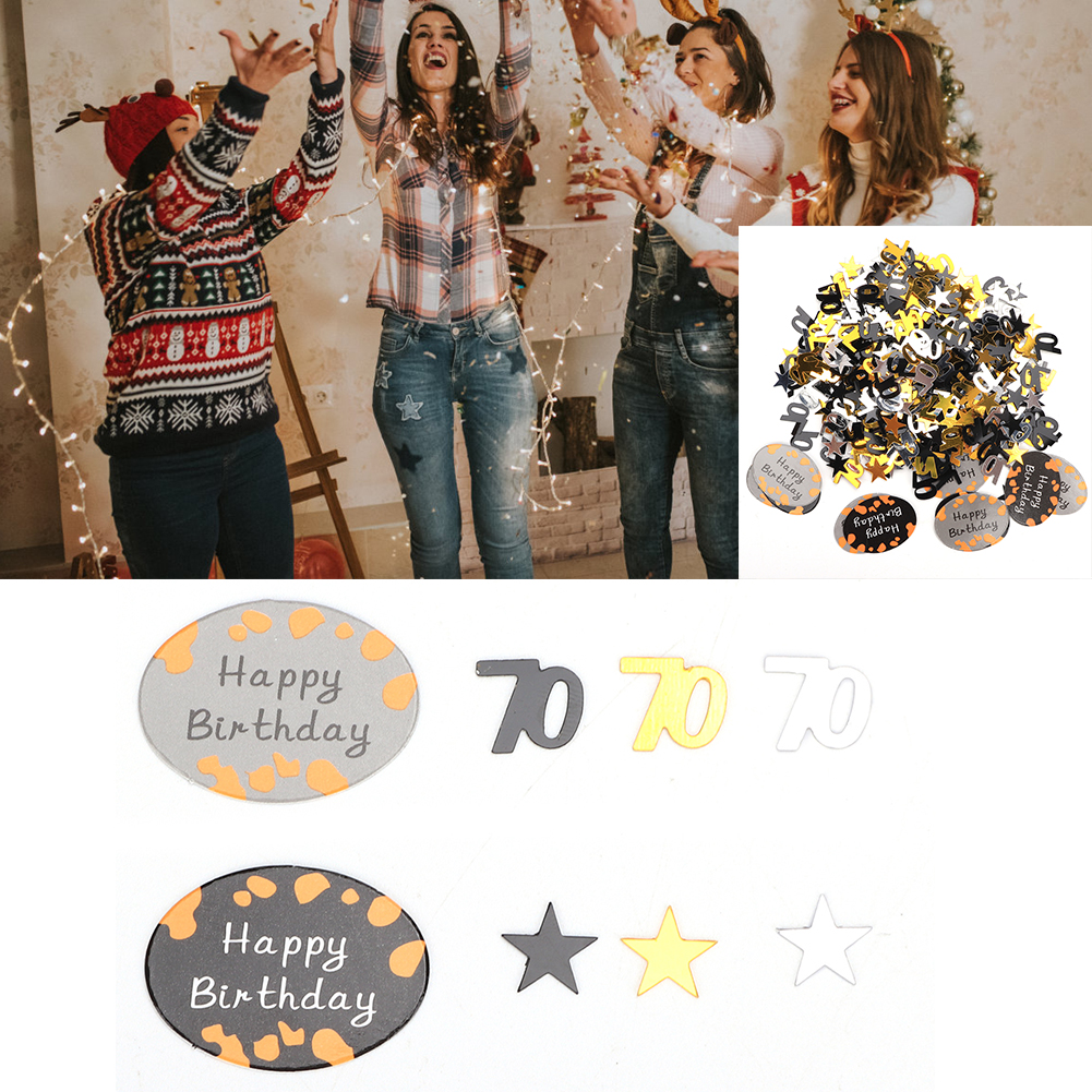 Table-Scatter-Confetti-Party-Decoration-Sprinkles-For-Wedding-Birthday-Hen-Party miniature 41