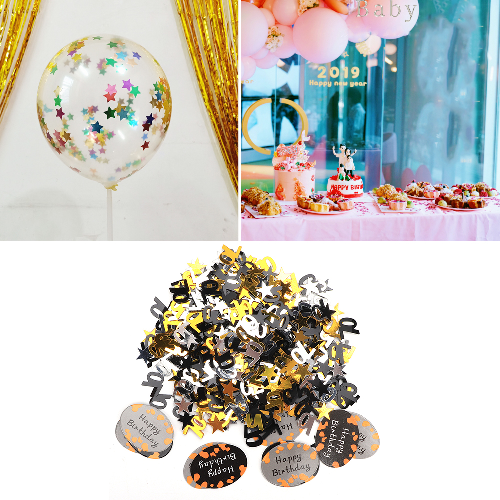 Table-Scatter-Confetti-Party-Decoration-Sprinkles-For-Wedding-Birthday-Hen-Party miniature 42