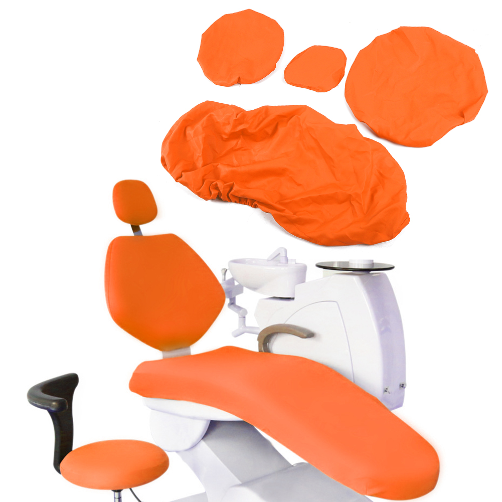 Indexbild 15 - Dental Chair Unit Cover Sleeves PU Headrest Seat Stool Protector 1 SET 6 Colors