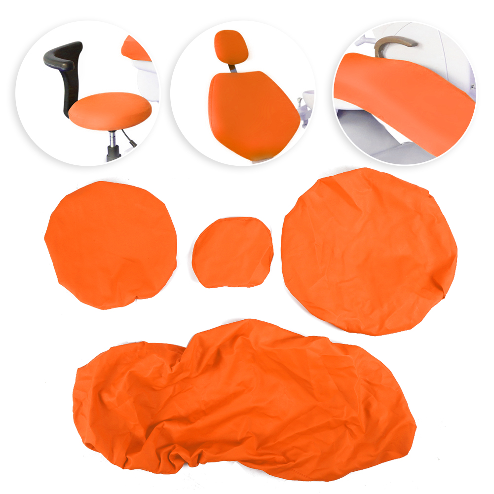 Indexbild 16 - Dental Chair Unit Cover Sleeves PU Headrest Seat Stool Protector 1 SET 6 Colors