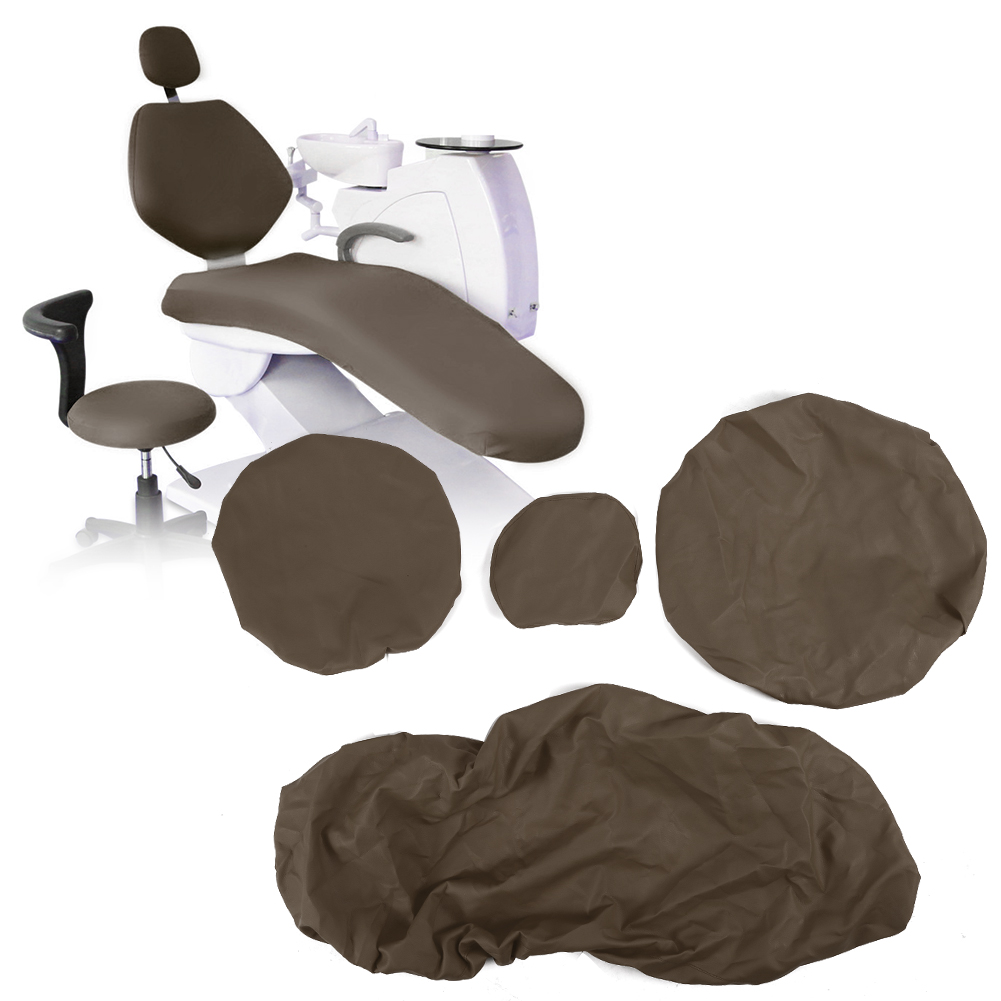 Indexbild 24 - Dental Chair Unit Cover Sleeves PU Headrest Seat Stool Protector 1 SET 6 Colors