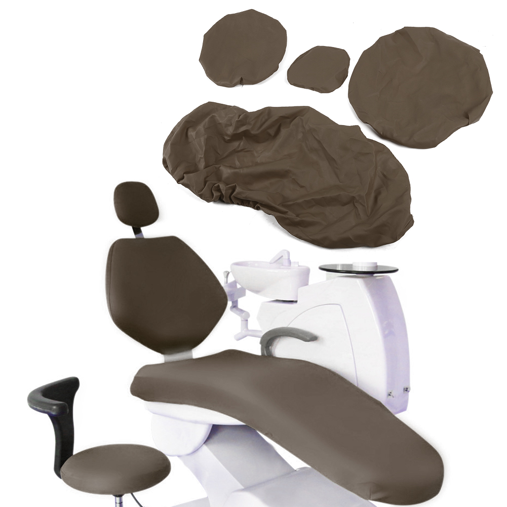 Indexbild 25 - Dental Chair Unit Cover Sleeves PU Headrest Seat Stool Protector 1 SET 6 Colors