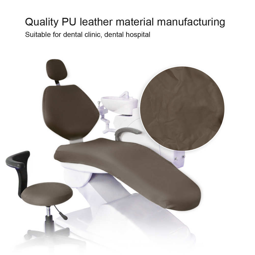 Indexbild 28 - Dental Chair Unit Cover Sleeves PU Headrest Seat Stool Protector 1 SET 6 Colors