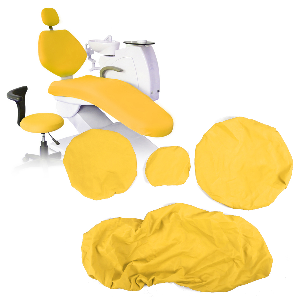 Indexbild 34 - Dental Chair Unit Cover Sleeves PU Headrest Seat Stool Protector 1 SET 6 Colors