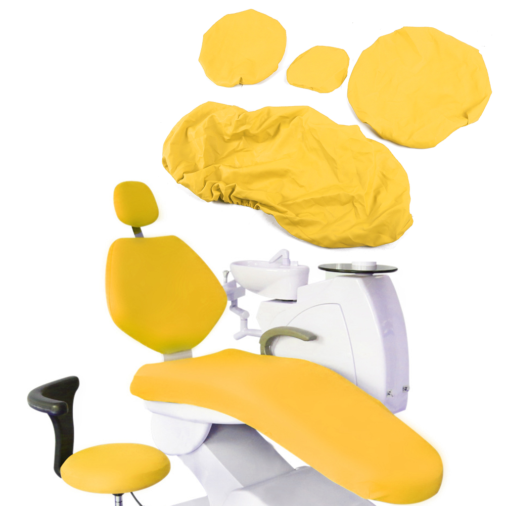 Indexbild 35 - Dental Chair Unit Cover Sleeves PU Headrest Seat Stool Protector 1 SET 6 Colors