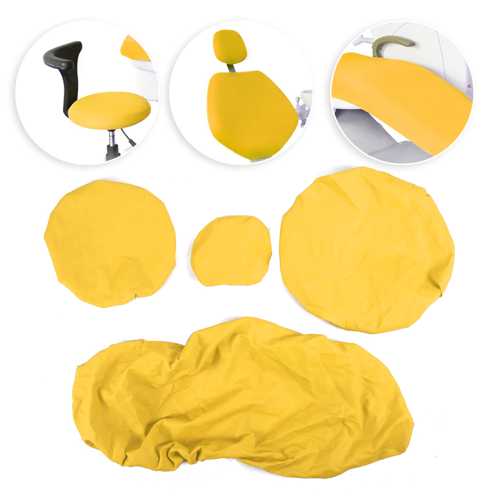 Indexbild 36 - Dental Chair Unit Cover Sleeves PU Headrest Seat Stool Protector 1 SET 6 Colors