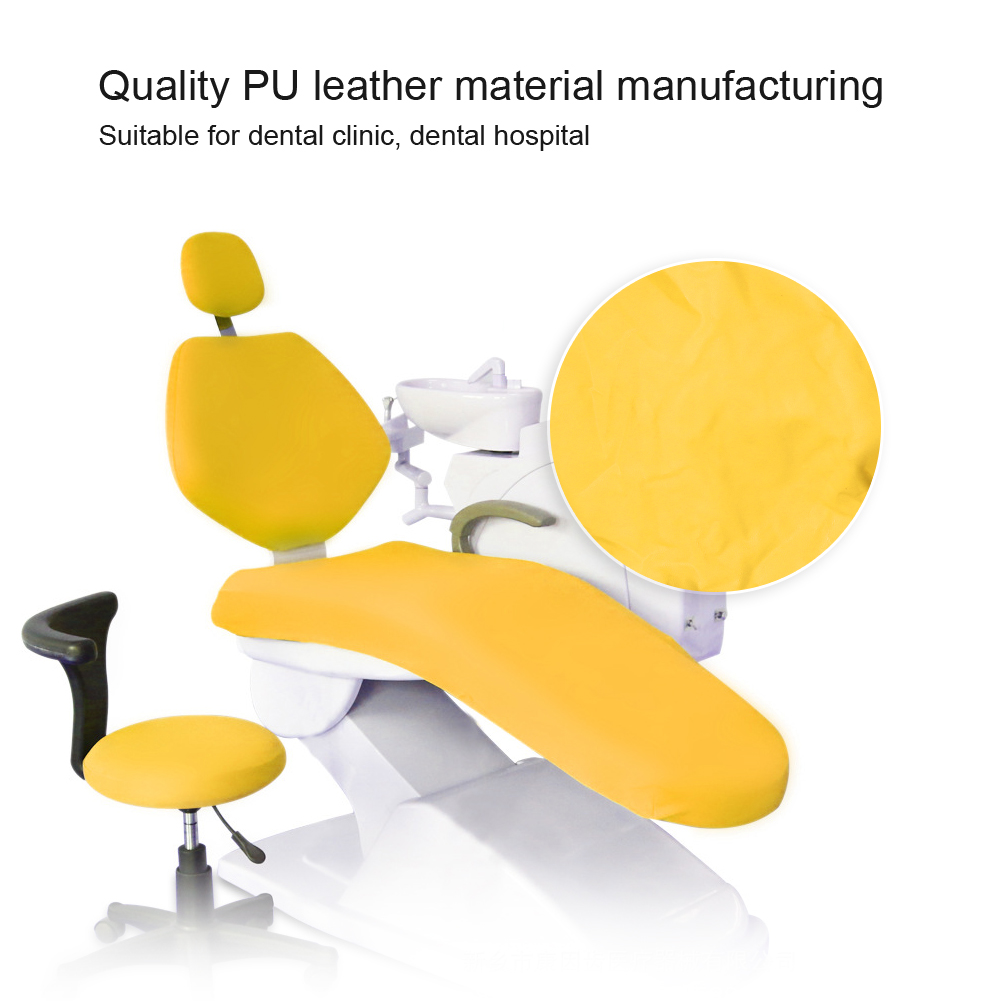 Indexbild 38 - Dental Chair Unit Cover Sleeves PU Headrest Seat Stool Protector 1 SET 6 Colors