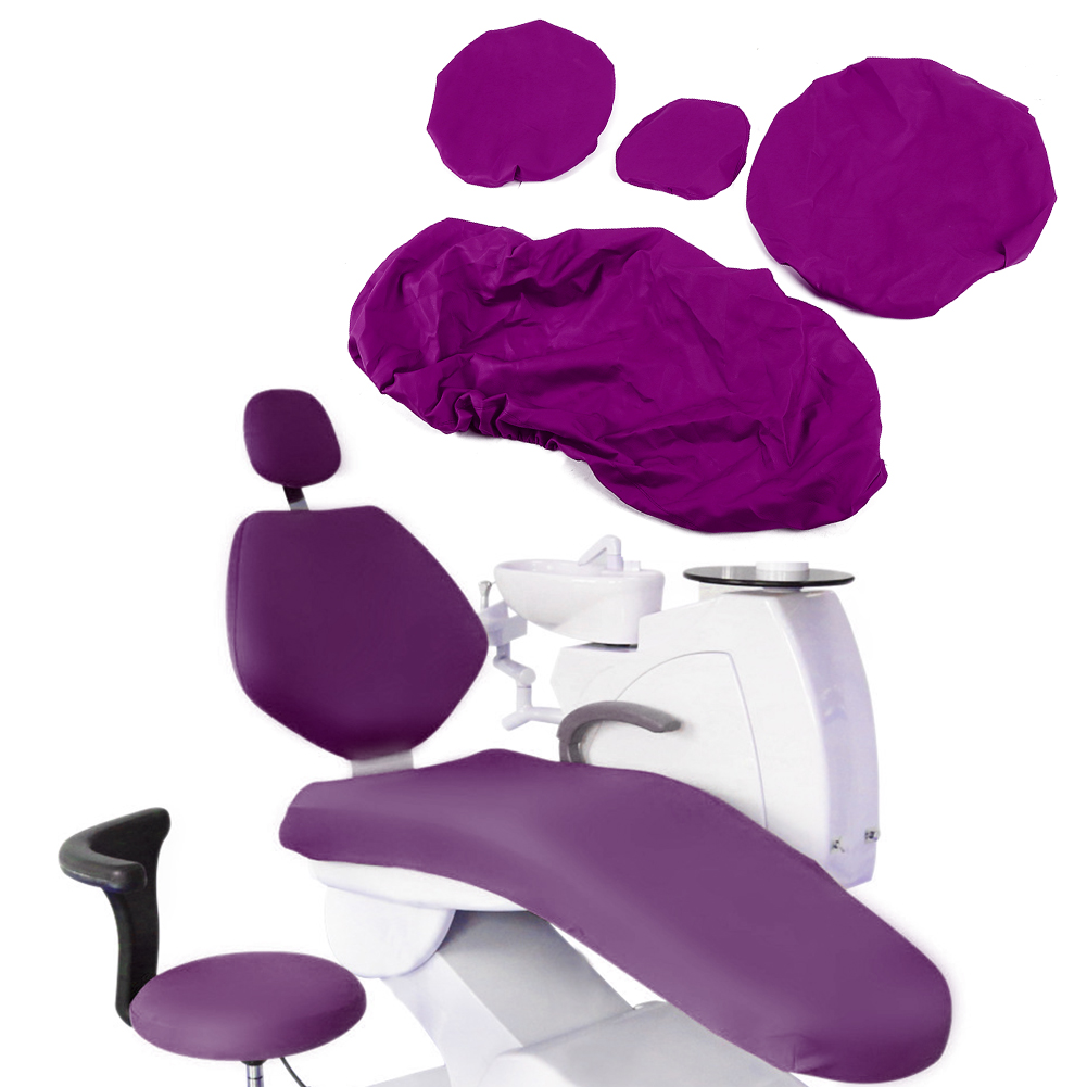 Indexbild 45 - Dental Chair Unit Cover Sleeves PU Headrest Seat Stool Protector 1 SET 6 Colors