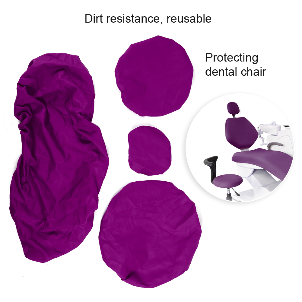 Indexbild 47 - Dental Chair Unit Cover Sleeves PU Headrest Seat Stool Protector 1 SET 6 Colors