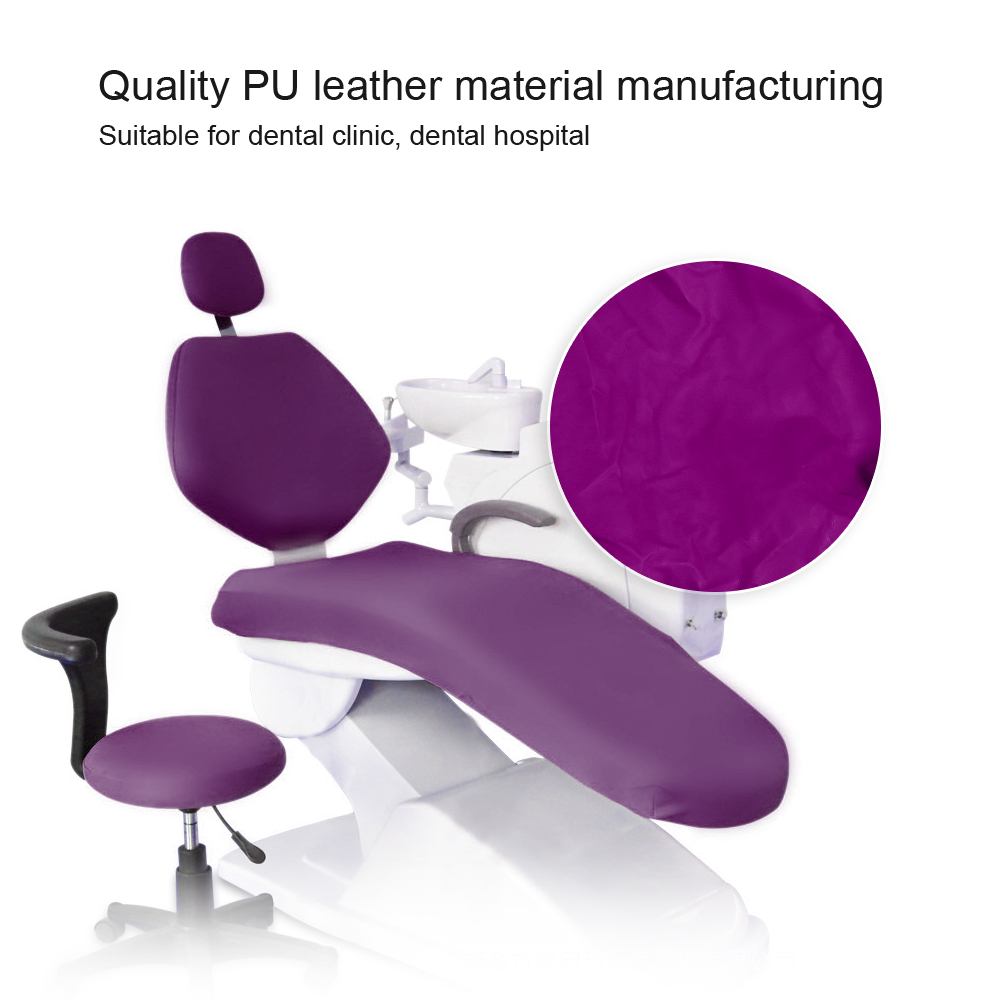 Indexbild 48 - Dental Chair Unit Cover Sleeves PU Headrest Seat Stool Protector 1 SET 6 Colors