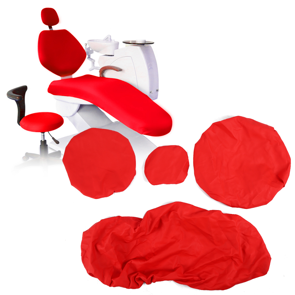 Indexbild 54 - Dental Chair Unit Cover Sleeves PU Headrest Seat Stool Protector 1 SET 6 Colors