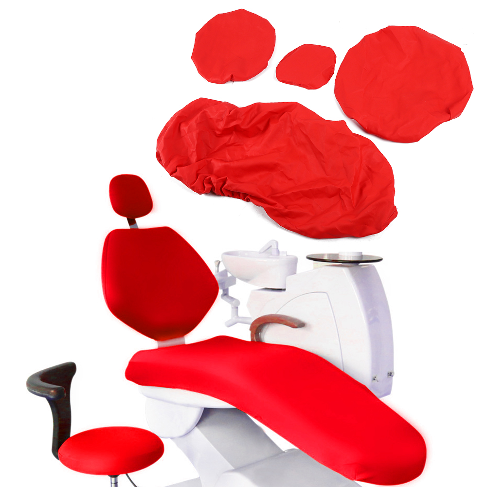 Indexbild 55 - Dental Chair Unit Cover Sleeves PU Headrest Seat Stool Protector 1 SET 6 Colors