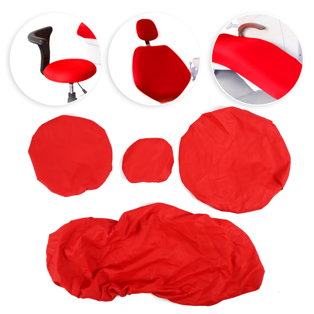 Indexbild 56 - Dental Chair Unit Cover Sleeves PU Headrest Seat Stool Protector 1 SET 6 Colors