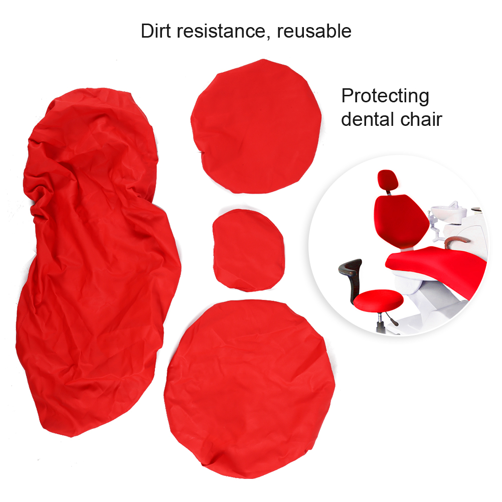 Indexbild 57 - Dental Chair Unit Cover Sleeves PU Headrest Seat Stool Protector 1 SET 6 Colors