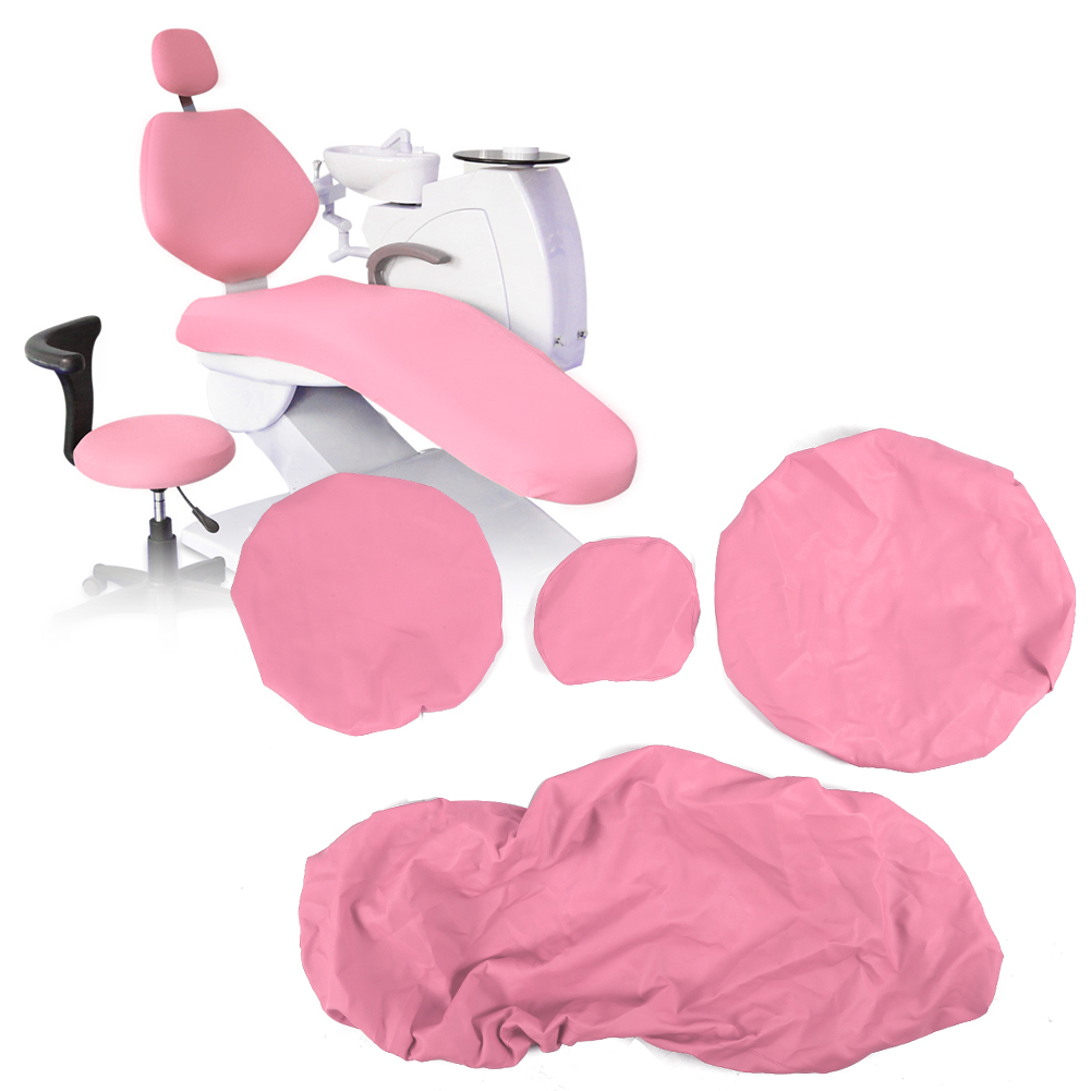 Indexbild 64 - Dental Chair Unit Cover Sleeves PU Headrest Seat Stool Protector 1 SET 6 Colors