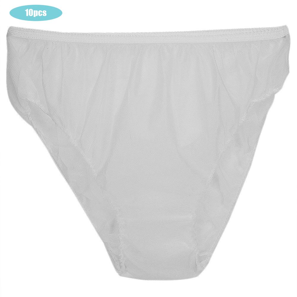 Indexbild 41 - 10Pcs Womens Disposable Underwear Maternity Pregnancy SPA Panties Cotton Briefs