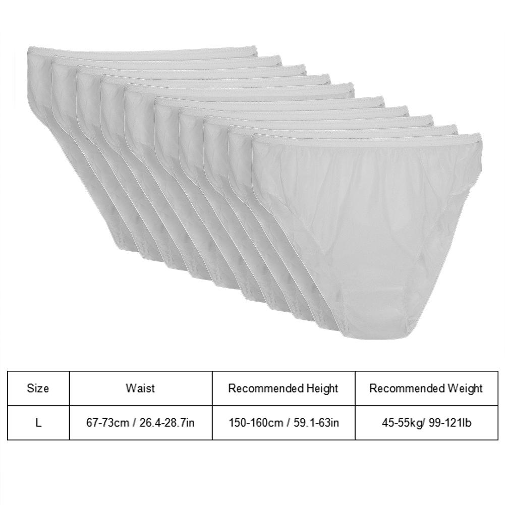Indexbild 44 - 10Pcs Womens Disposable Underwear Maternity Pregnancy SPA Panties Cotton Briefs