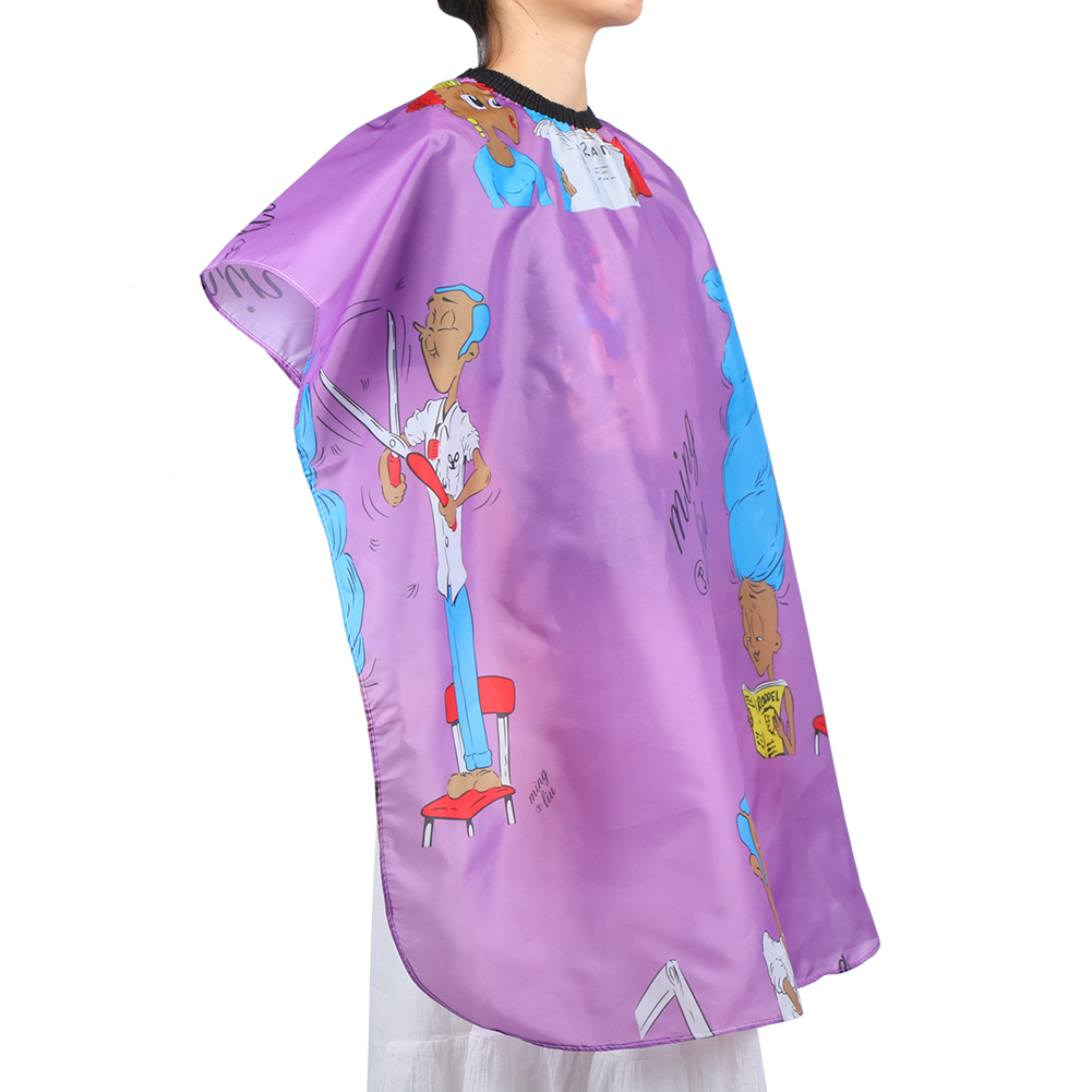 Indexbild 93 - Large Hair Cutting Cape Salon Hairdressing / Hairdresser Gown Barber Cloth Apron