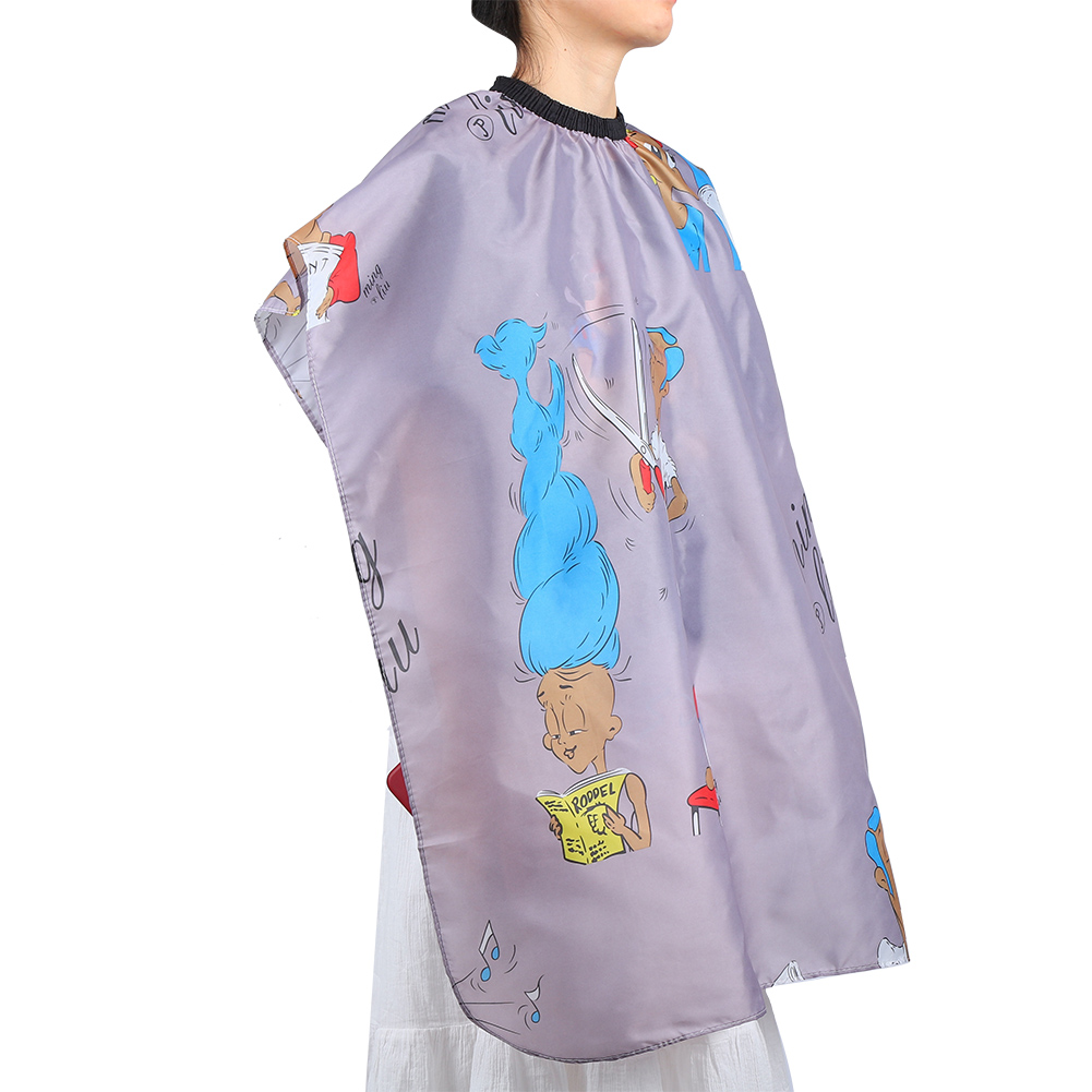 Indexbild 105 - Large Hair Cutting Cape Salon Hairdressing / Hairdresser Gown Barber Cloth Apron