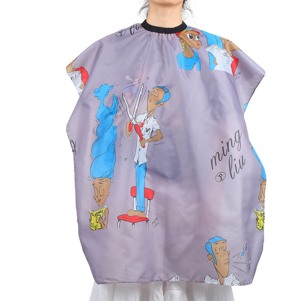 Indexbild 107 - Large Hair Cutting Cape Salon Hairdressing / Hairdresser Gown Barber Cloth Apron