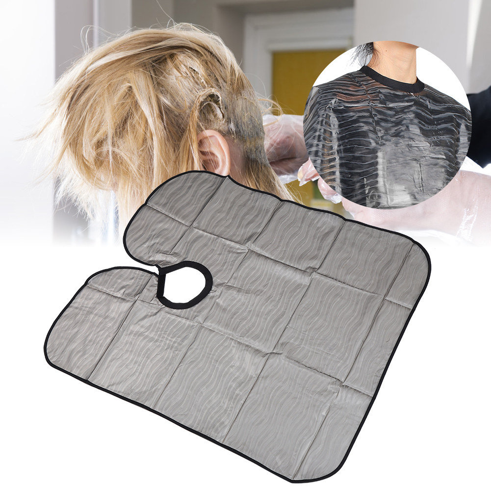 Indexbild 75 - Large Hair Cutting Cape Salon Hairdressing / Hairdresser Gown Barber Cloth Apron
