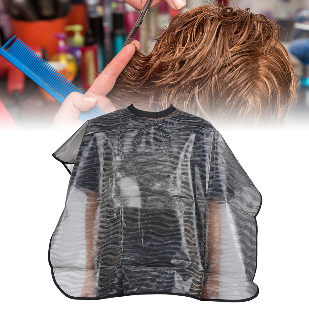 Indexbild 77 - Large Hair Cutting Cape Salon Hairdressing / Hairdresser Gown Barber Cloth Apron
