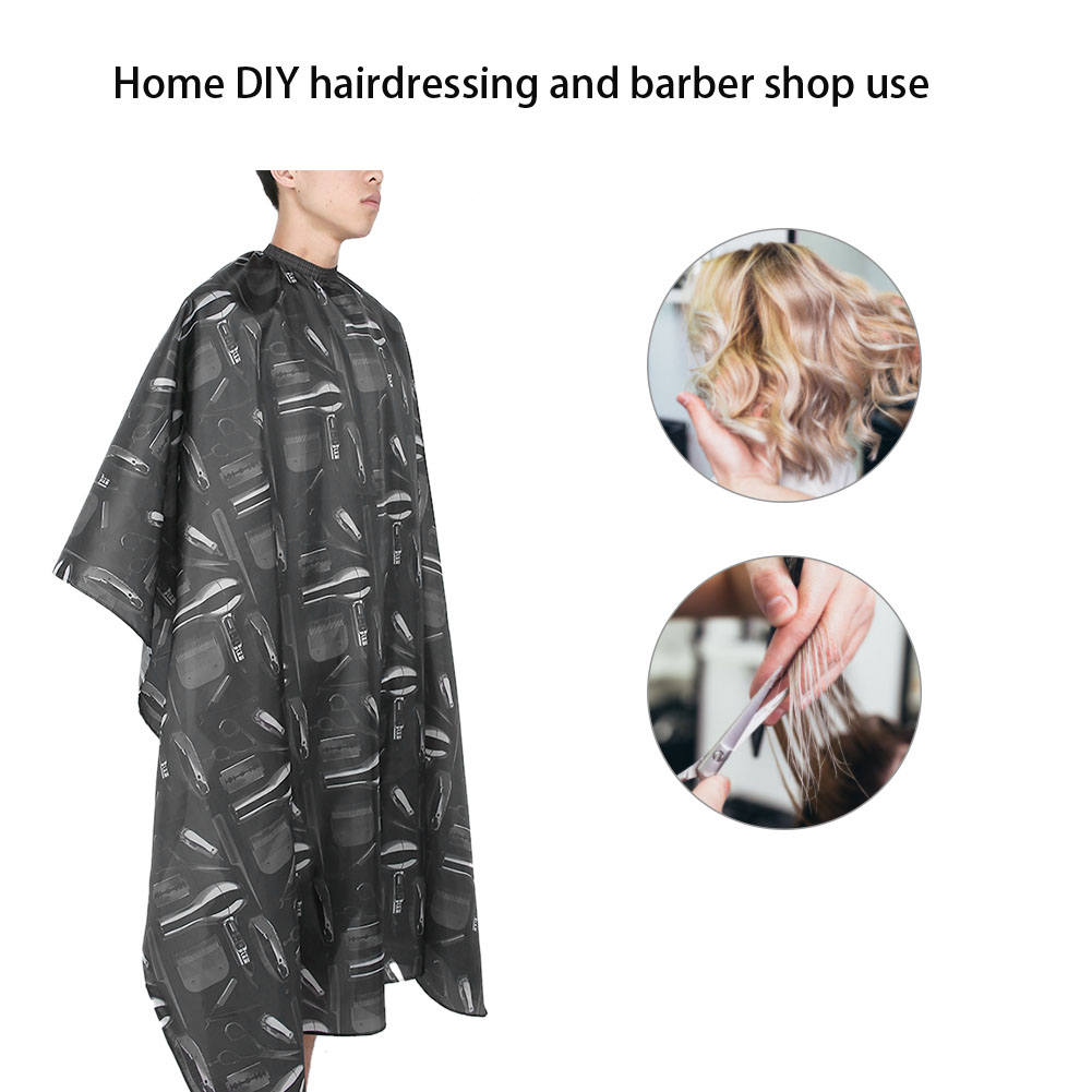 Indexbild 57 - Large Hair Cutting Cape Salon Hairdressing / Hairdresser Gown Barber Cloth Apron