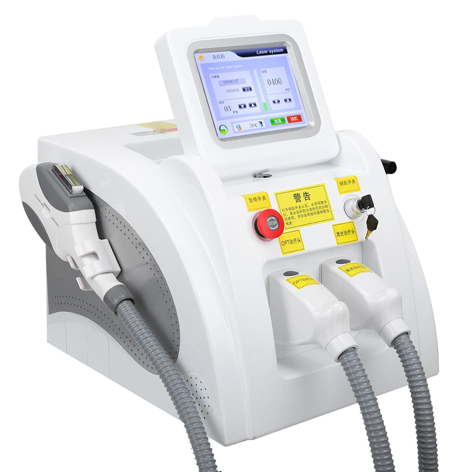 Indexbild 15 - 2In1 SHR OPT IPL Hair Removal RF Laser Skin Rejuvenation Tattoo Removal Machine