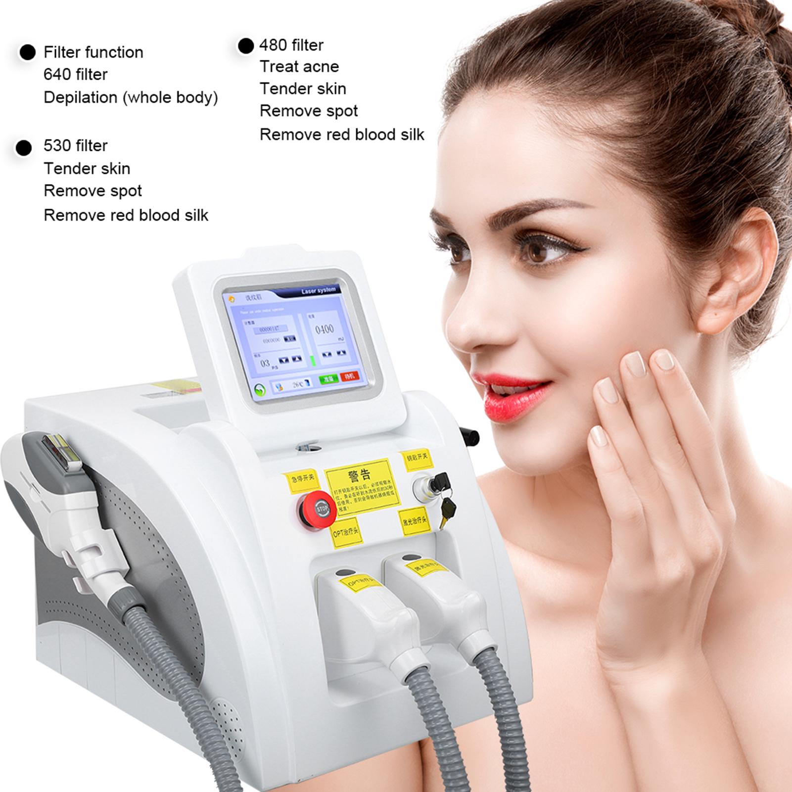 Indexbild 19 - 2In1 SHR OPT IPL Hair Removal RF Laser Skin Rejuvenation Tattoo Removal Machine