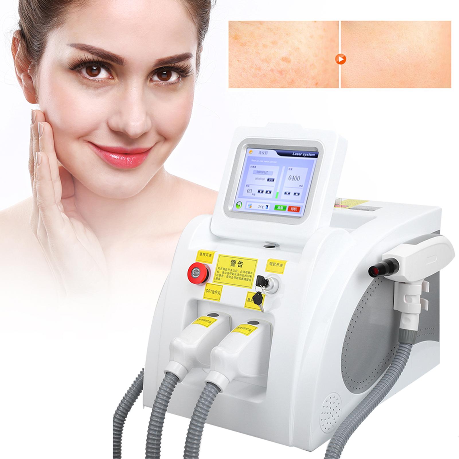 Indexbild 28 - 2In1 SHR OPT IPL Hair Removal RF Laser Skin Rejuvenation Tattoo Removal Machine