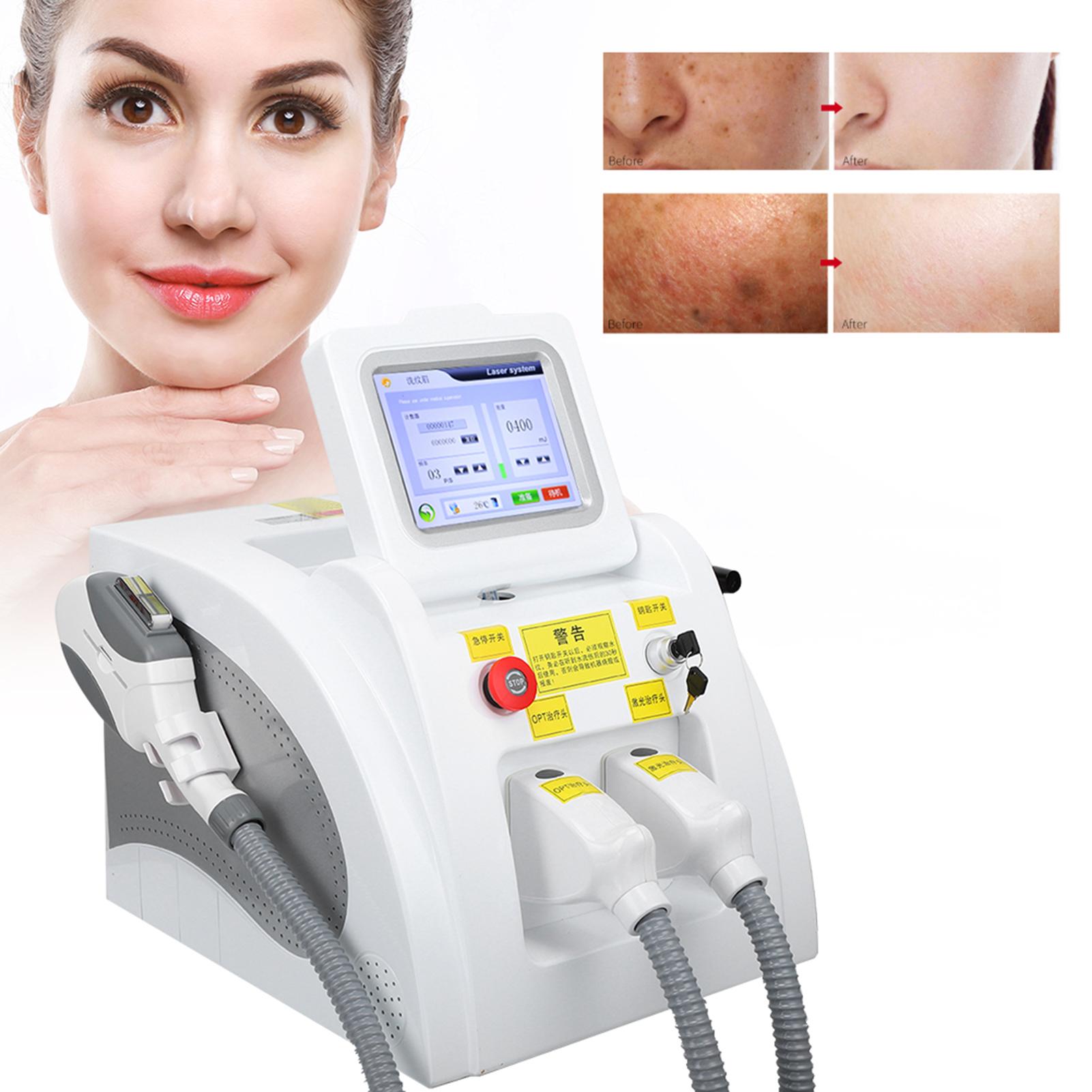 Indexbild 29 - 2In1 SHR OPT IPL Hair Removal RF Laser Skin Rejuvenation Tattoo Removal Machine