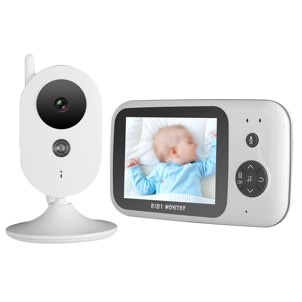 Wireless-Baby-Monitor-3-2-034-LCD-2-4G-2-Way-Audio-Video-Security-Camera-Night-View thumbnail 18