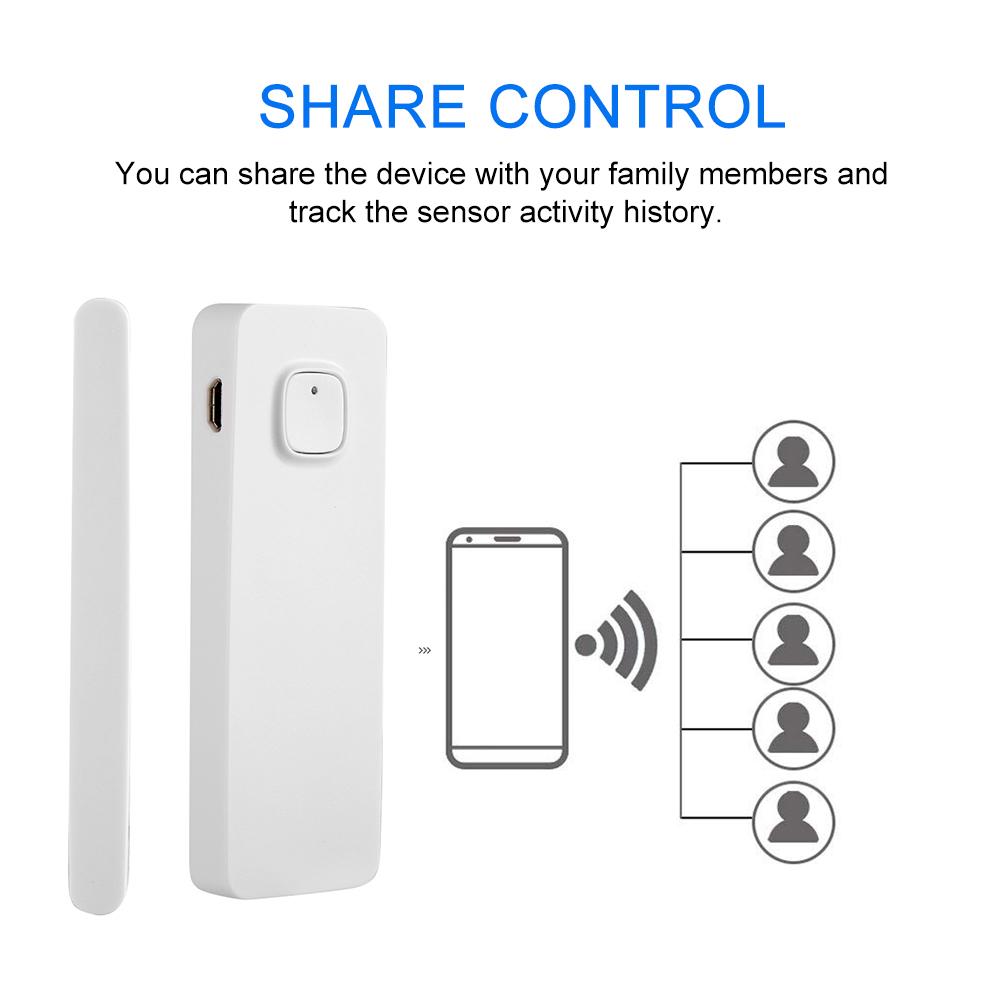 WiFi-Door-Window-Sensor-2-4Ghz-Home-Security-Detector-Support-for-Google-Home thumbnail 21
