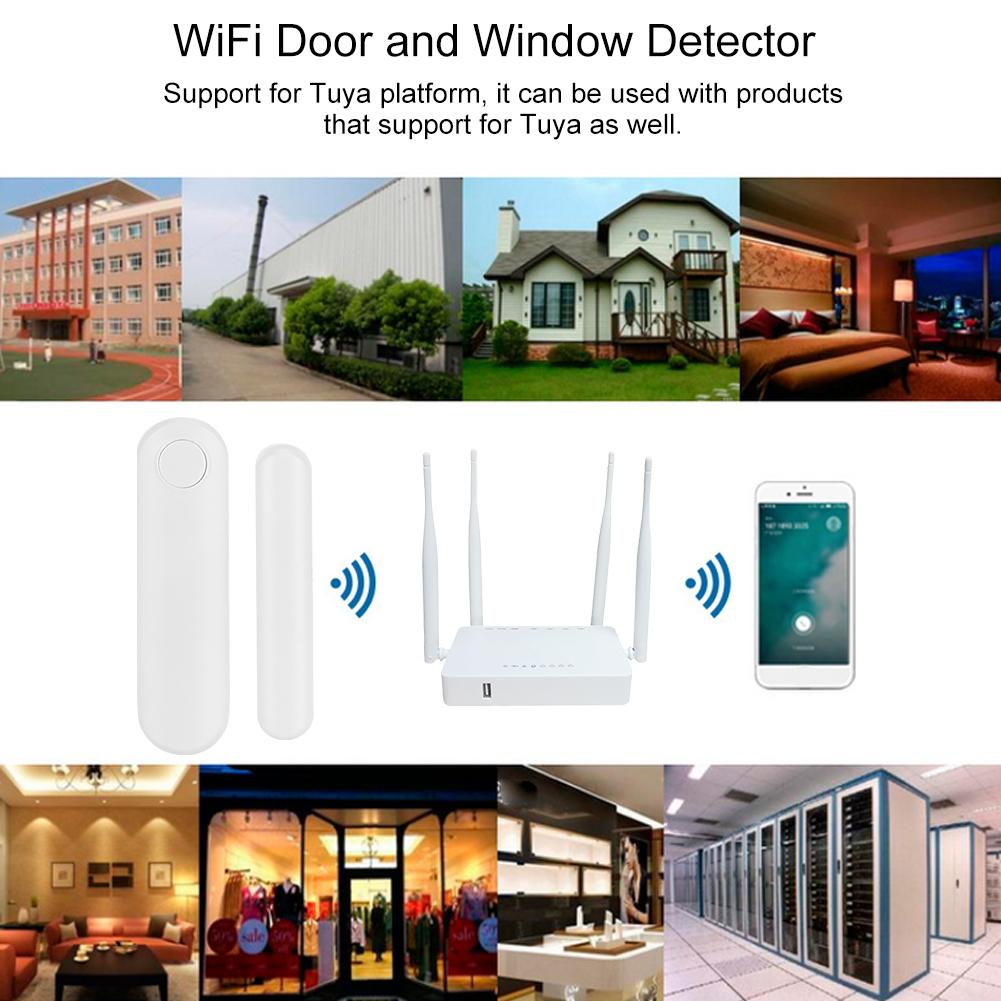 WiFi-Door-Window-Sensor-2-4Ghz-Home-Security-Detector-Support-for-Google-Home thumbnail 28