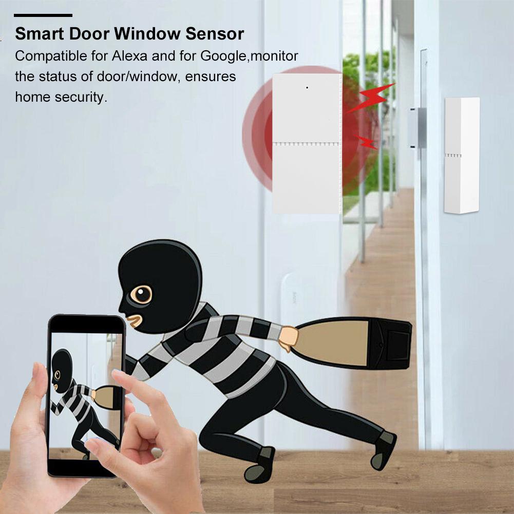 WiFi-Door-Window-Sensor-2-4Ghz-Home-Security-Detector-Support-for-Google-Home thumbnail 36