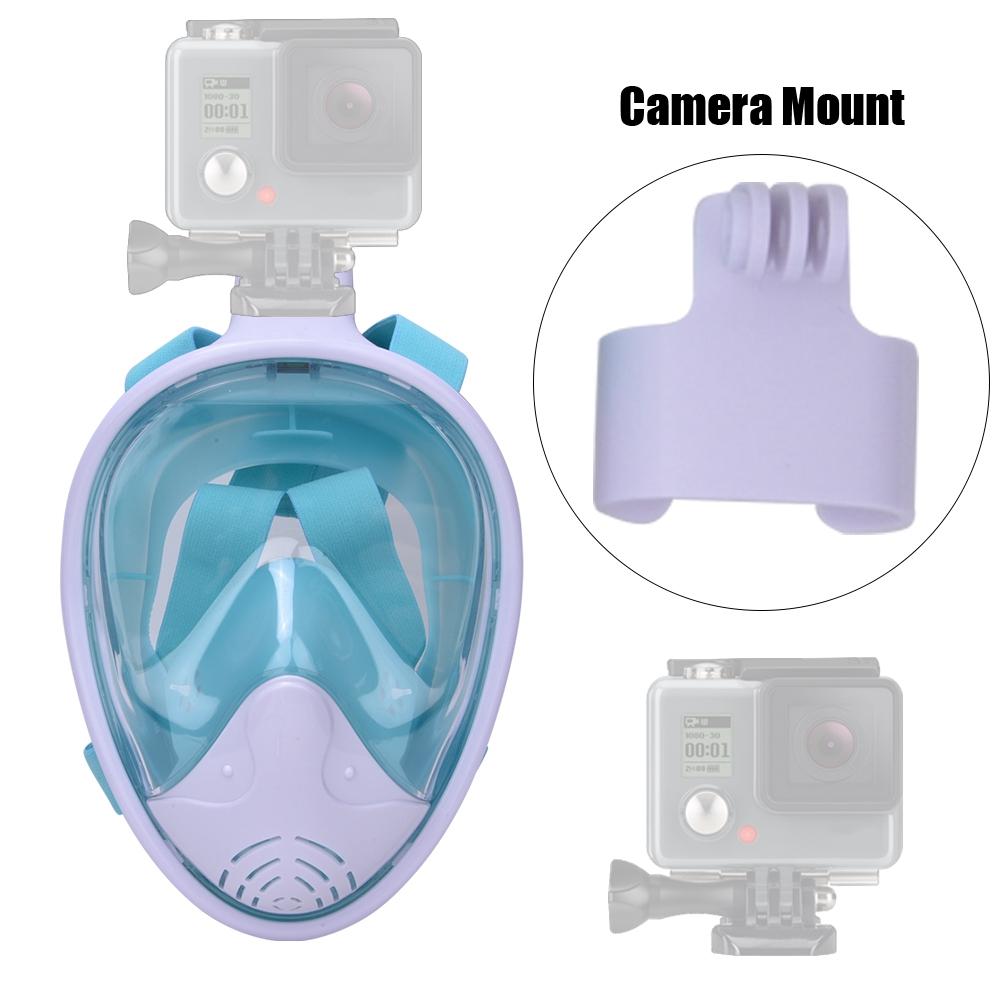 Anti-Fog-Full-Face-Children-Snorkel-Mask-Swimming-Dive-Scuba-For-GoPro-Camera miniature 10