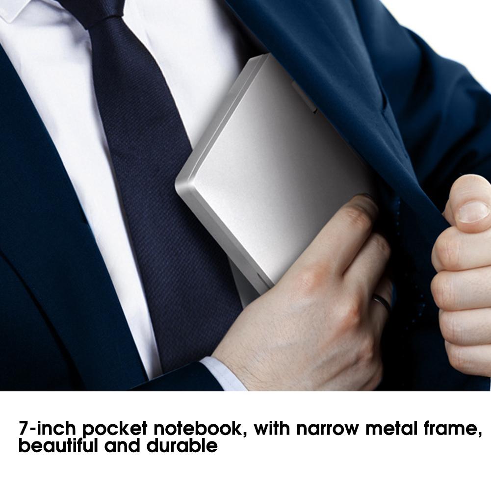 Portatile-7-pollici-8GB-RAM-256GB-ROM-per-Intel-Celeron-3965Y-Tasca-Notebook-Laptop miniatura 22