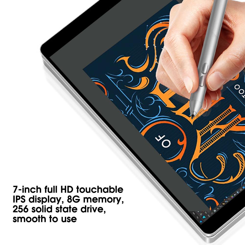 Portatile-7-pollici-8GB-RAM-256GB-ROM-per-Intel-Celeron-3965Y-Tasca-Notebook-Laptop miniatura 24
