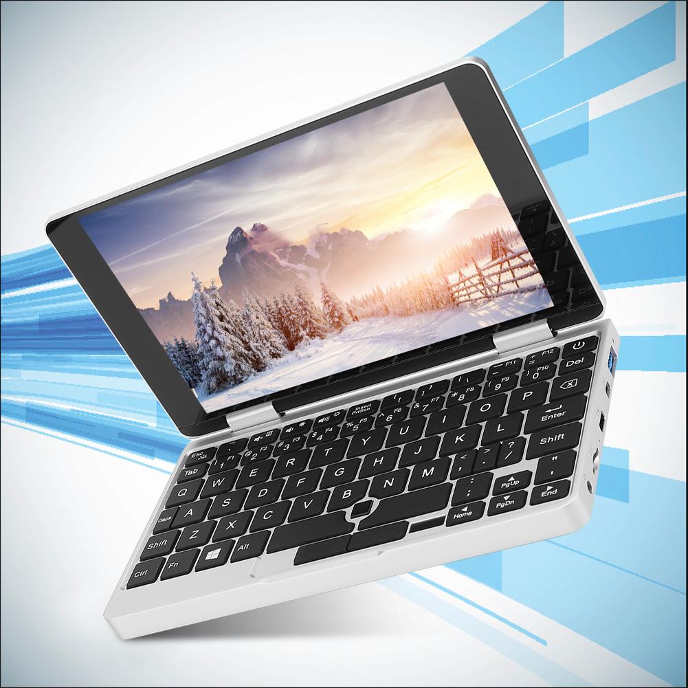 Portatile-7-pollici-8GB-RAM-256GB-ROM-per-Intel-Celeron-3965Y-Tasca-Notebook-Laptop miniatura 16