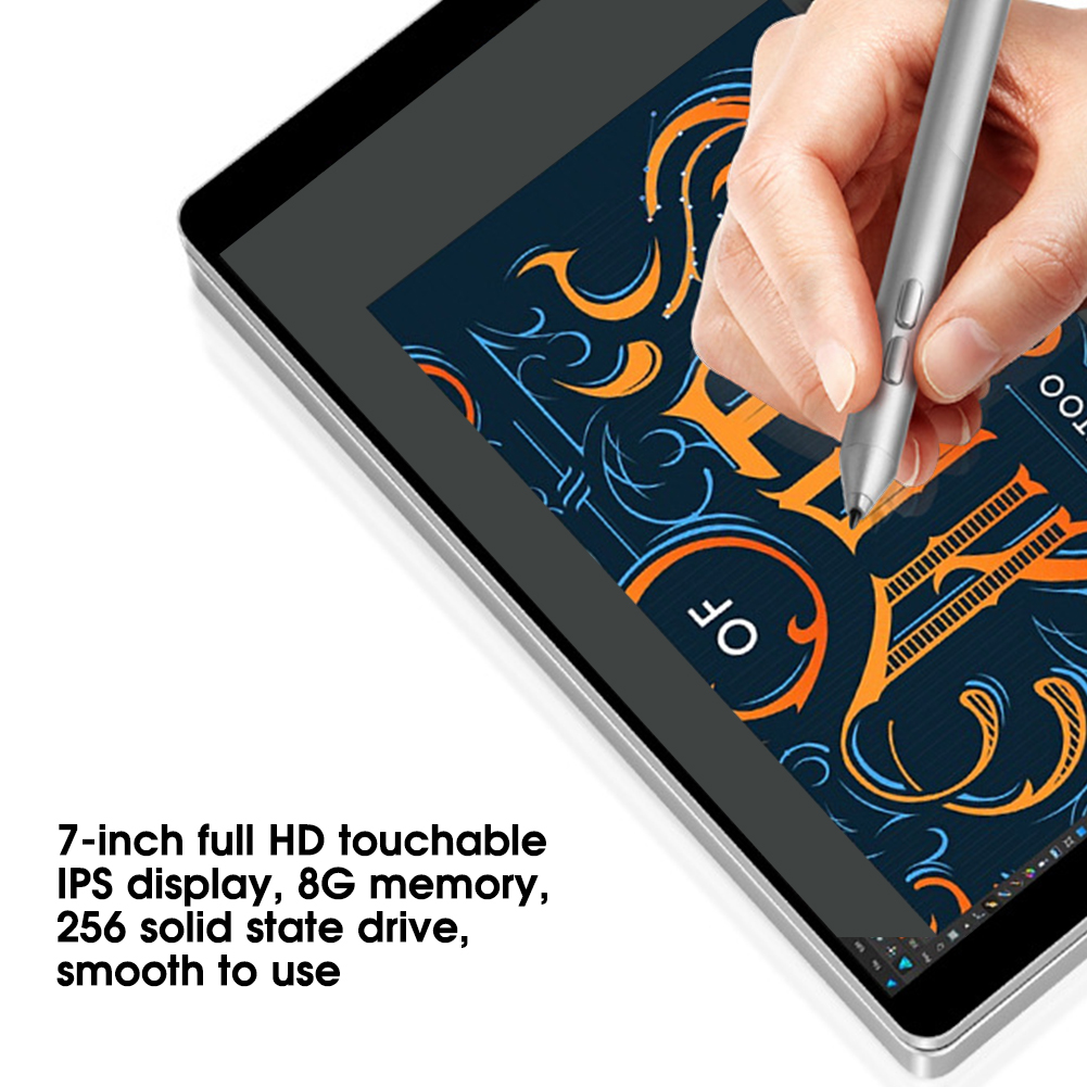 Portatile-7-pollici-8GB-RAM-256GB-ROM-per-Intel-Celeron-3965Y-Tasca-Notebook-Laptop miniatura 36